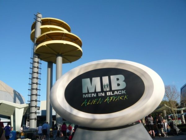 Men IN Black Alien Attack - Universal Studios Orlando