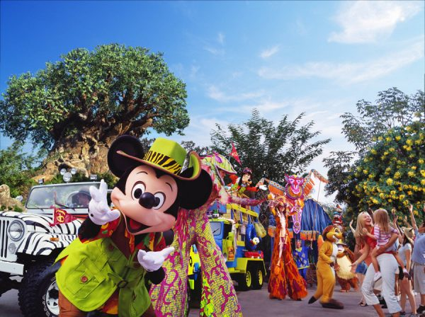 Mickey's Jammin' Jungle Parade - Animal Kingdom